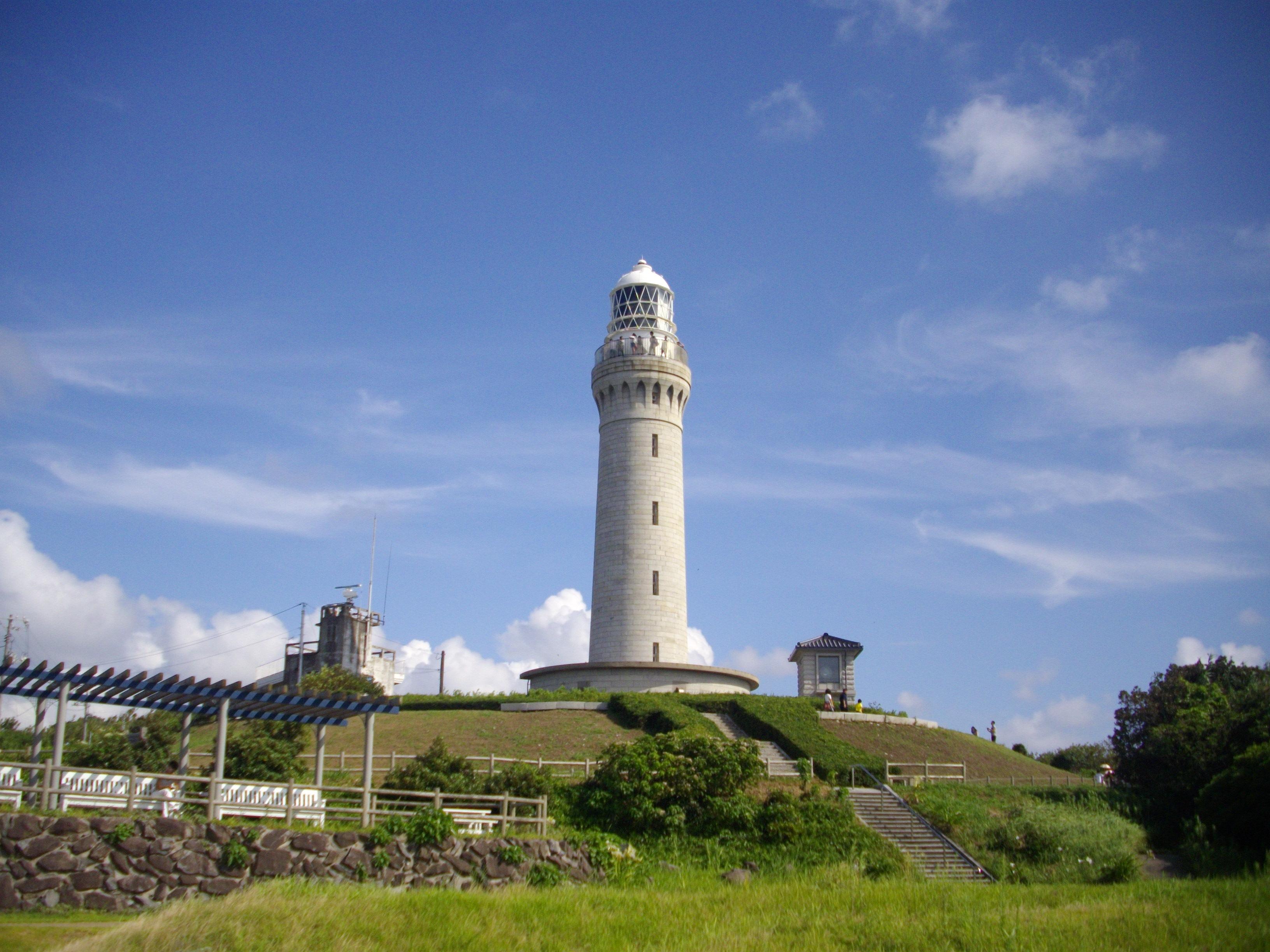のぼれる灯台 角島灯台