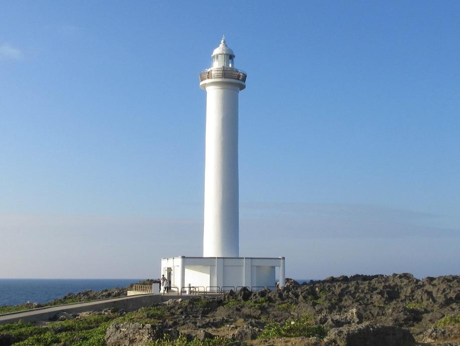 残波岬灯台(ざんぱみさき)